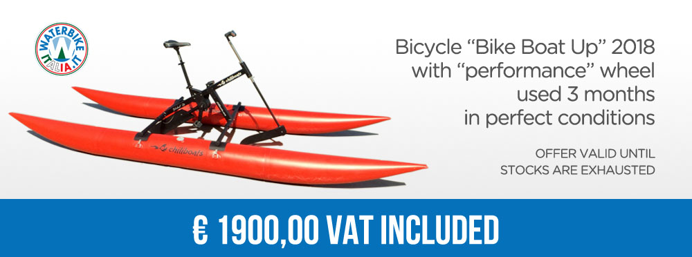 Waterbike offer bikeboat used