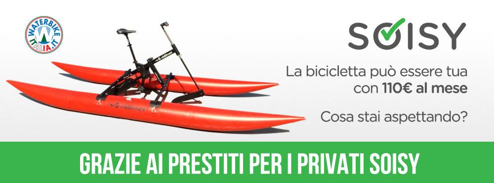 Waterbike finanziamenti Soisy