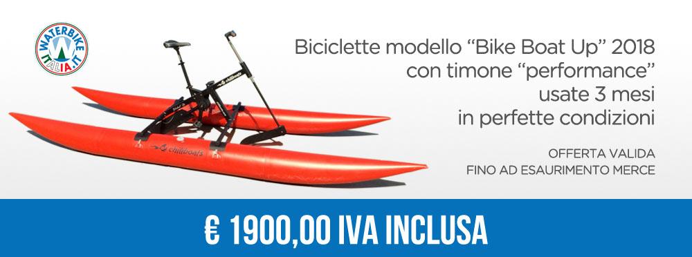 Waterbike offerta bikeboat usate