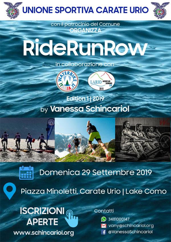 Waterbike RideRunRow